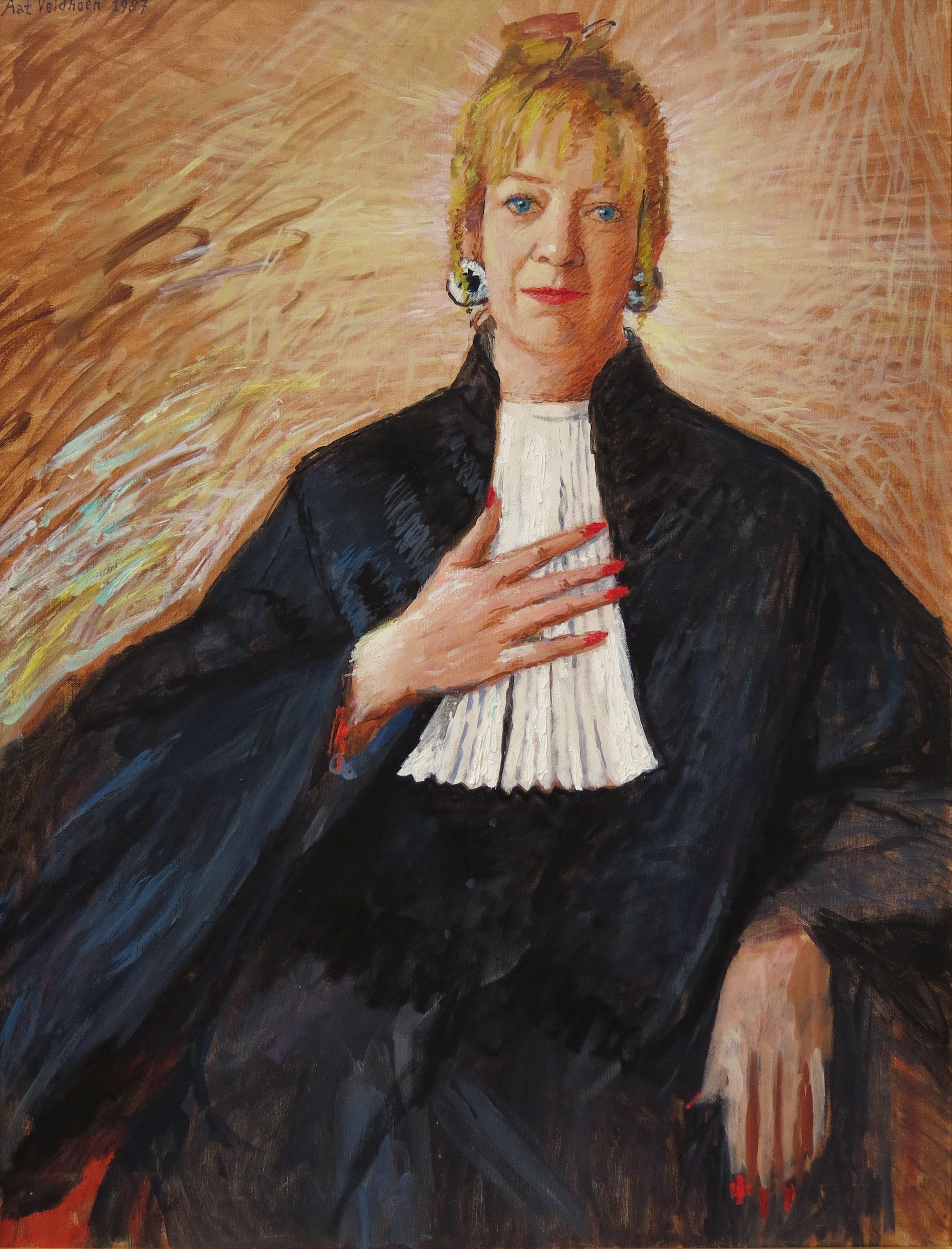 Karin van Ringen (1953-2017), rechter
