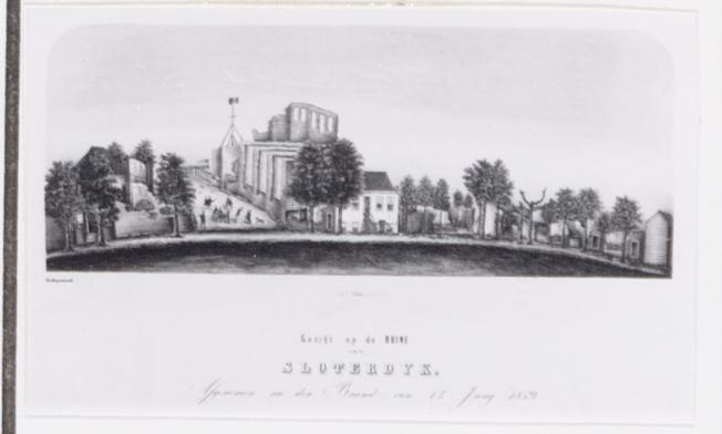 Ruïne van Sloterdijk 1859