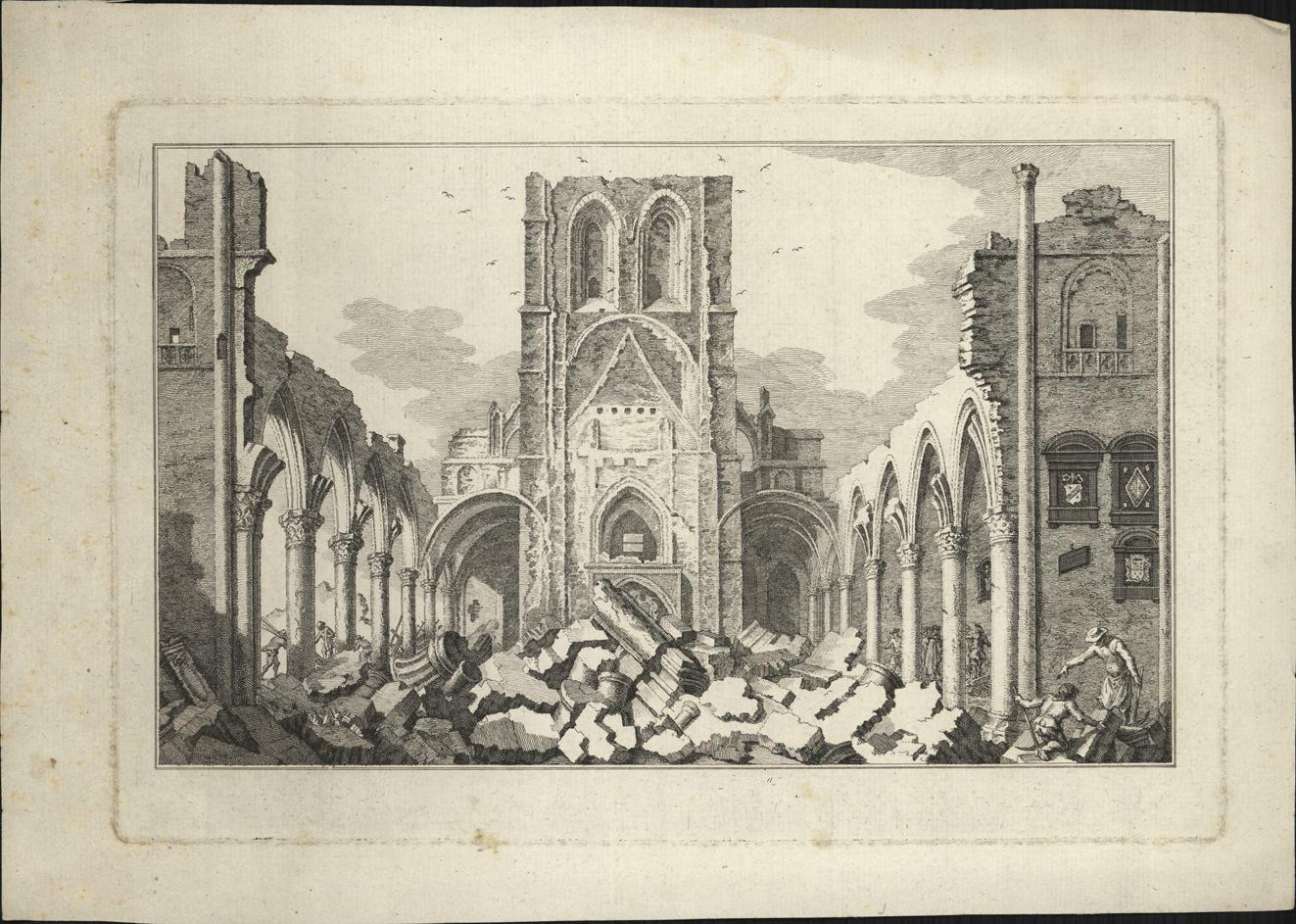 Ruïne van de Grote Kerk te Bergen op Zoom