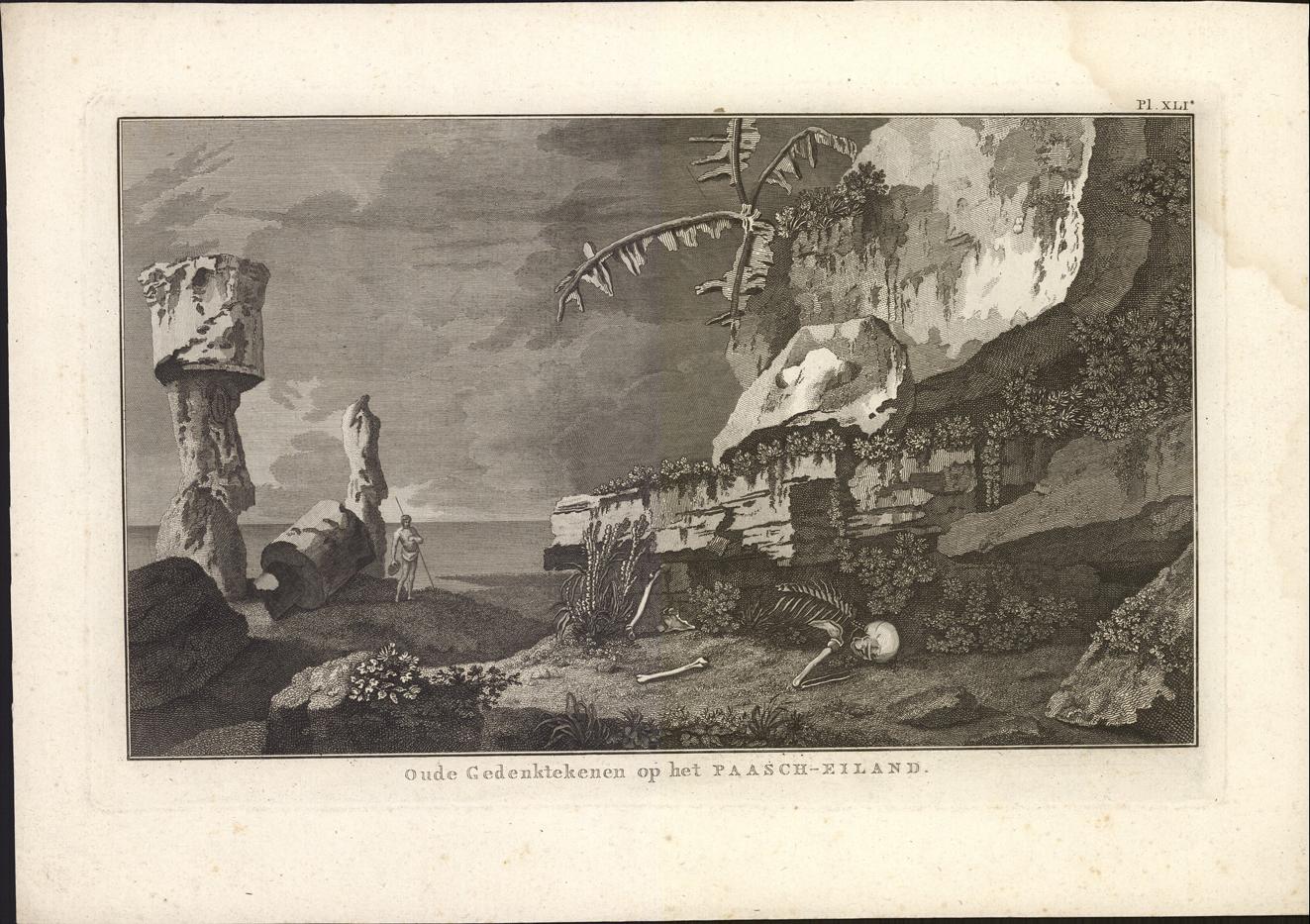 Oude Gedenktekenen op het Paasch-eiland