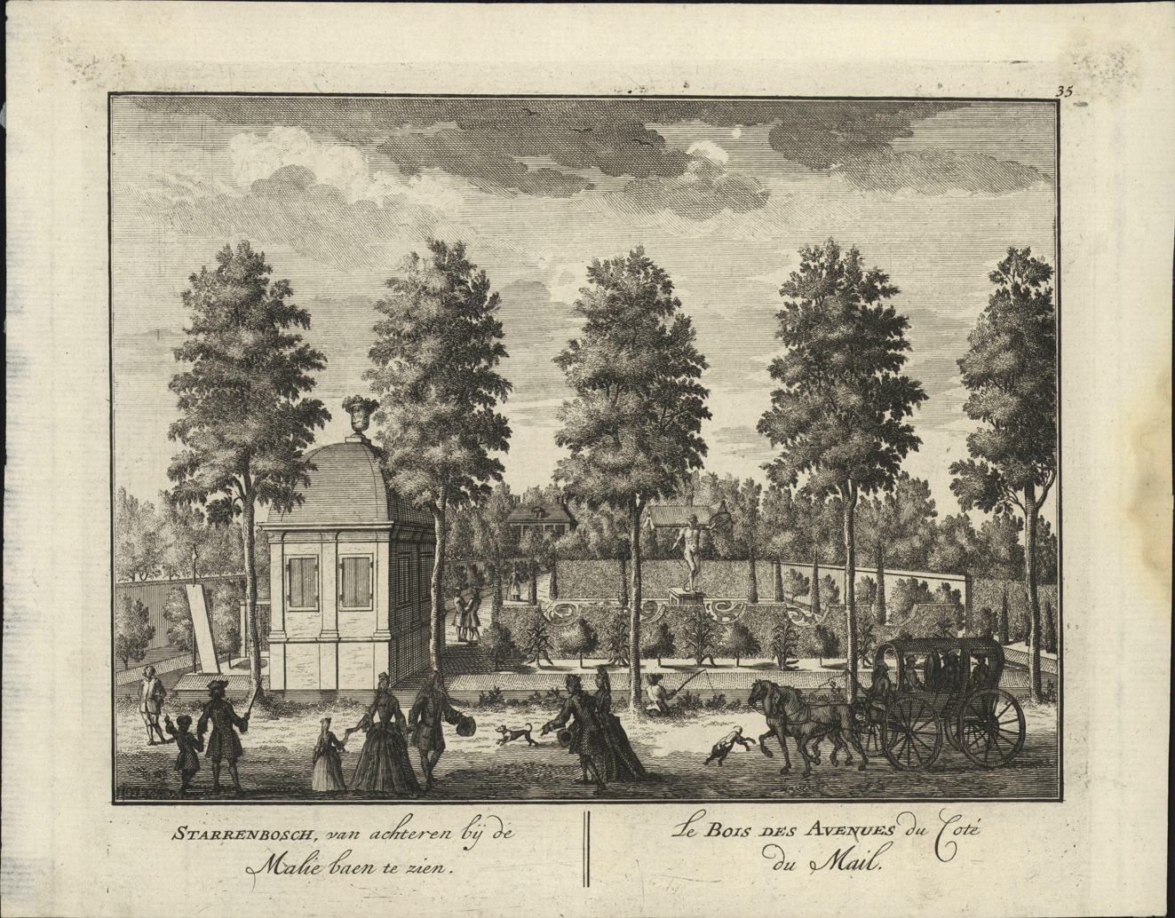 Buitenplaats Starrenbosch in de Watergraafsmeer