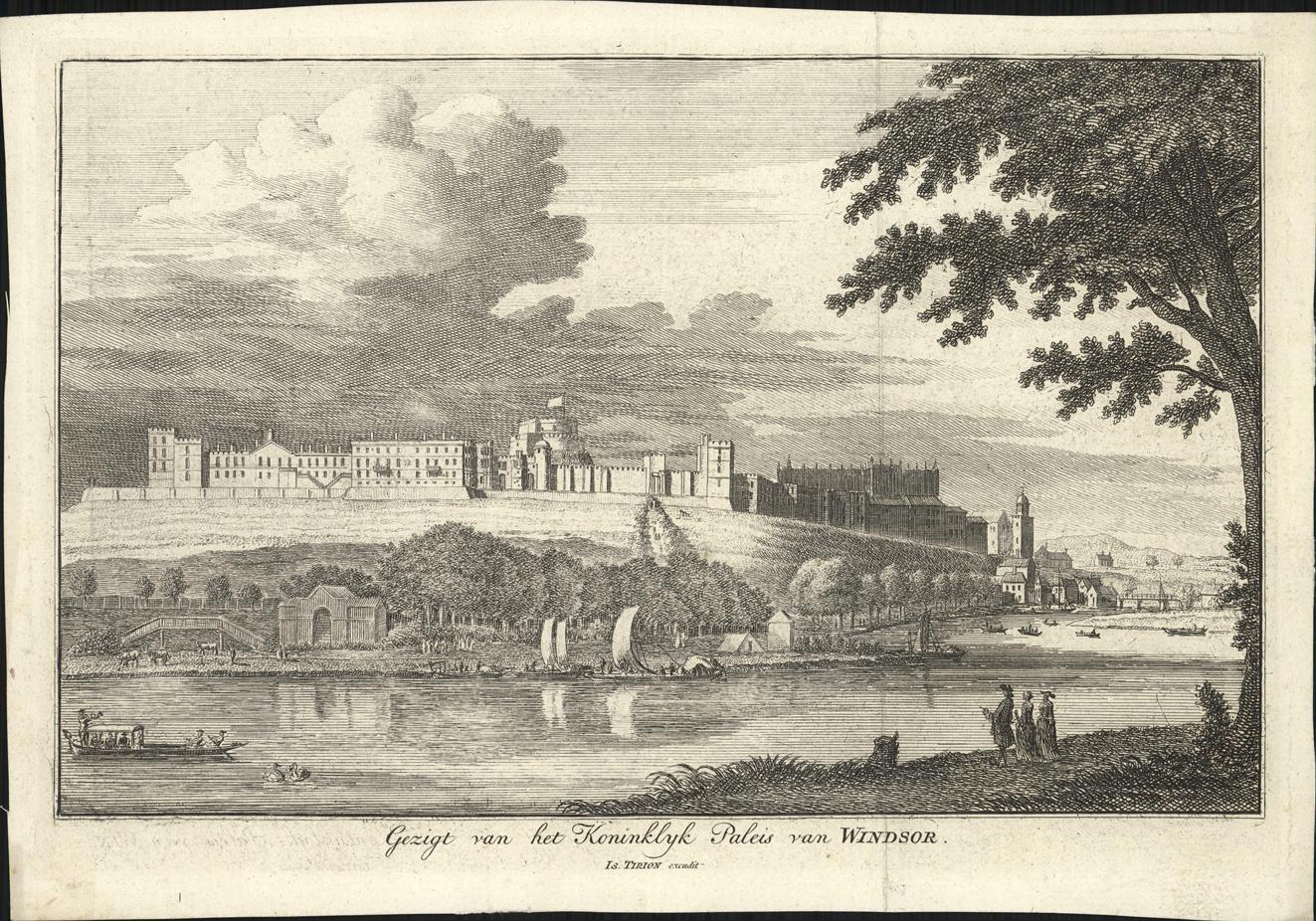 Gezicht op Windsor Castle