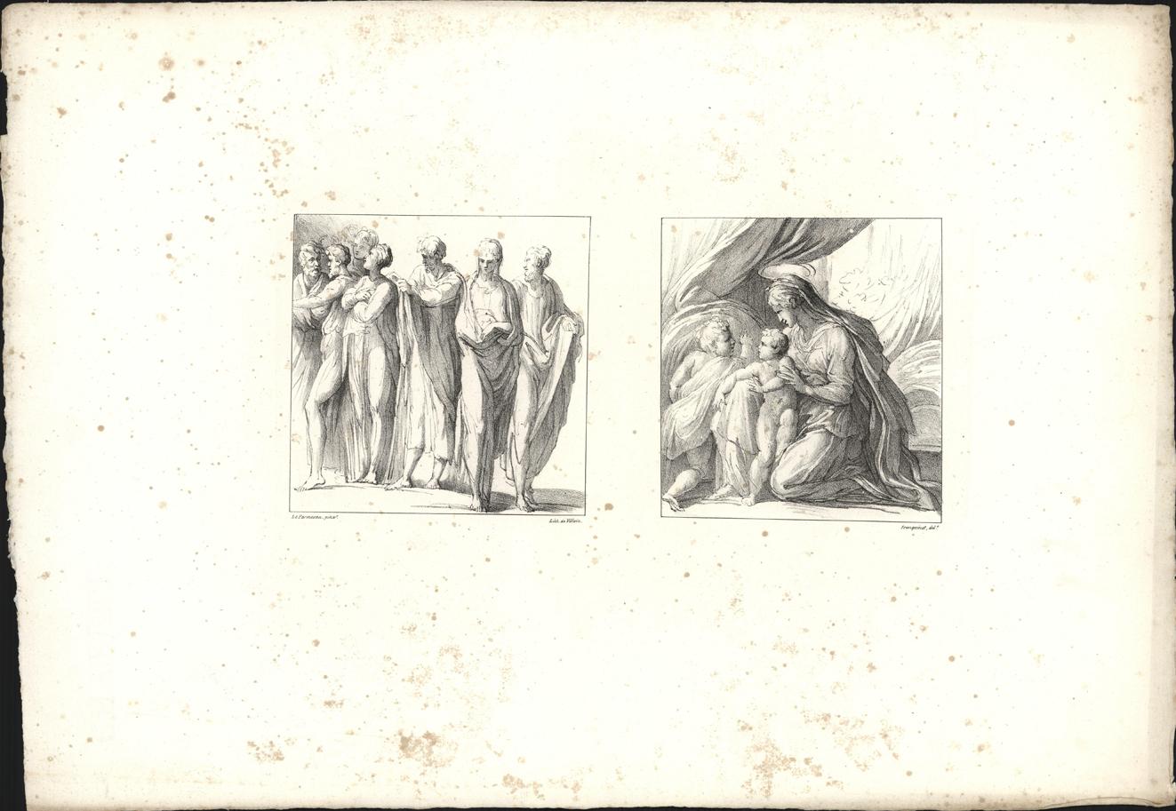 Twee bijbelse afbeeldingen