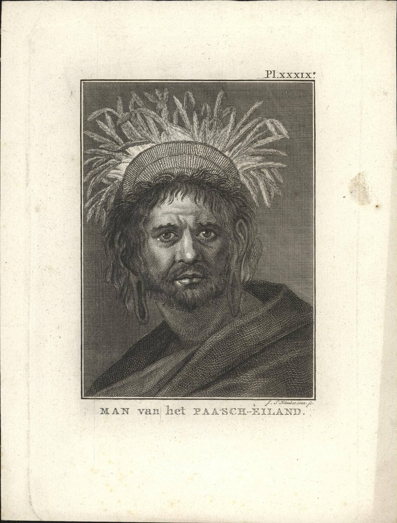 Man van het Paasch-Eiland