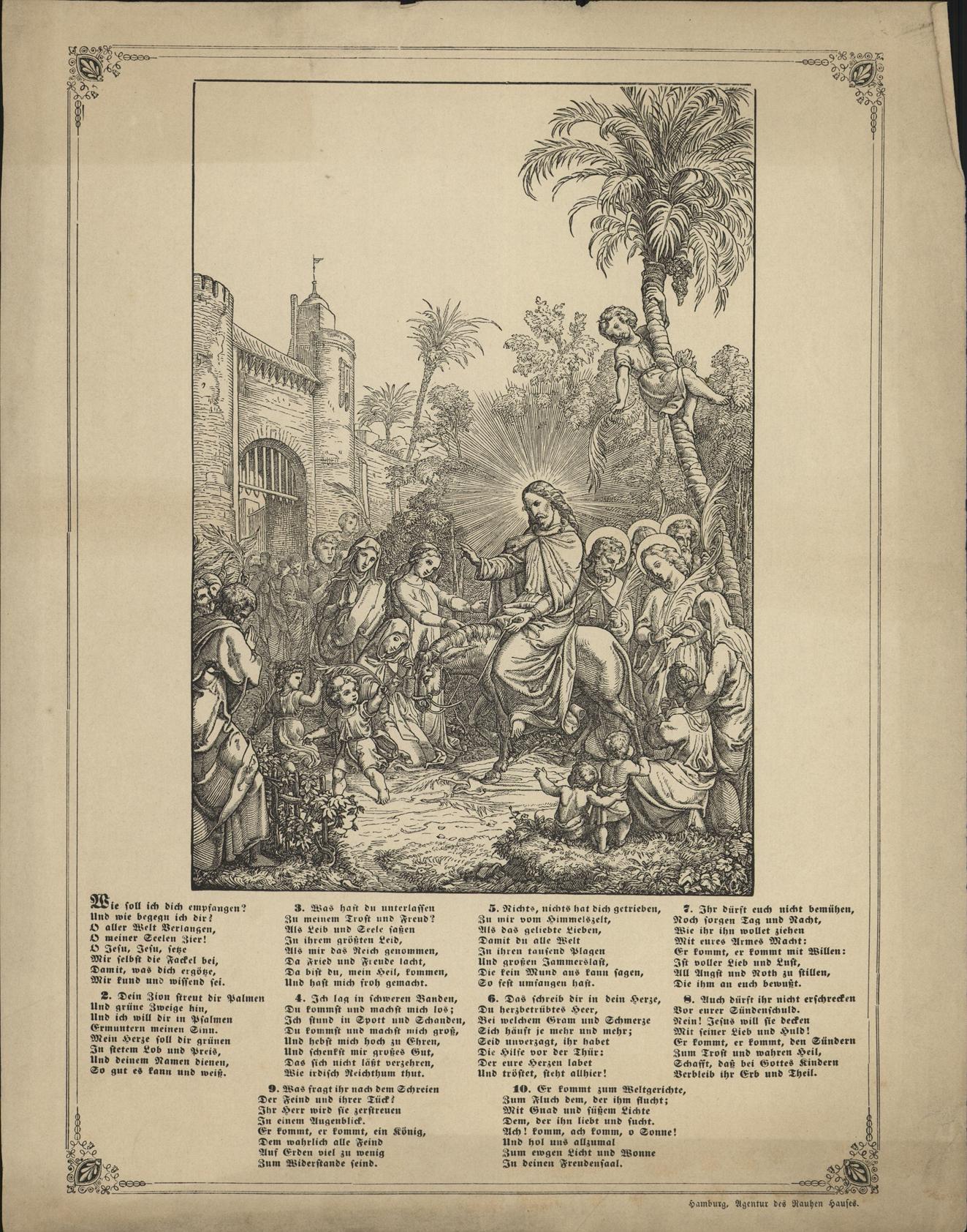 Intocht van Jezus in Jeruzalem