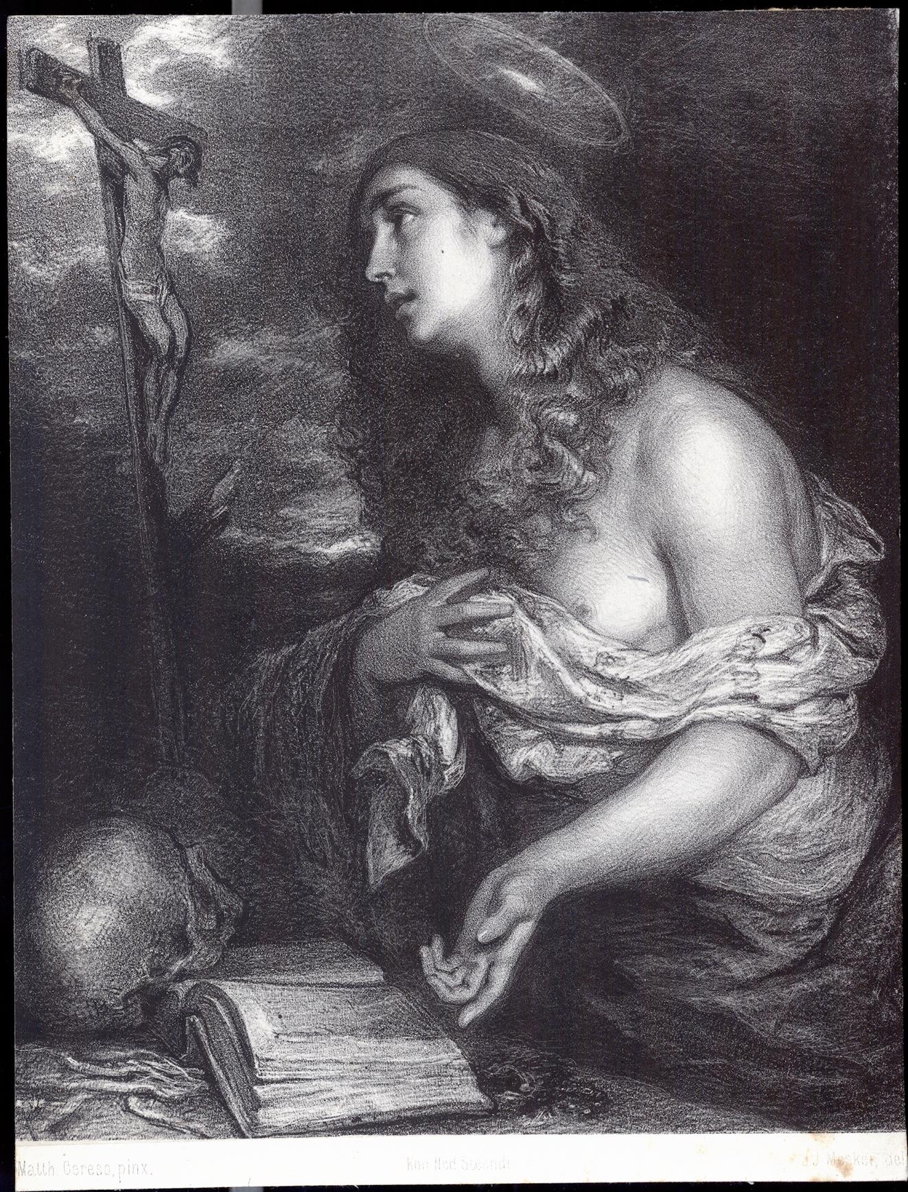 Magdalena bij het kruis