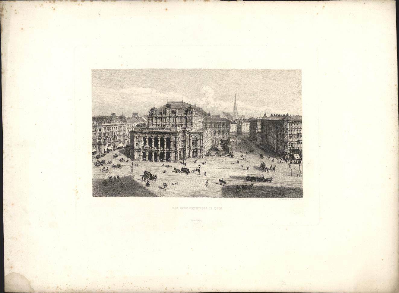 Das neue Opernhaus in Wien