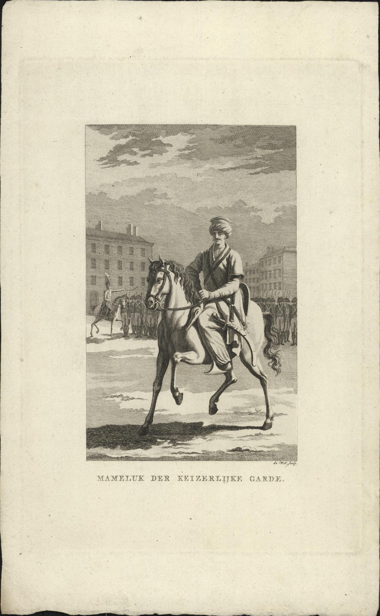 Mameluk te paard