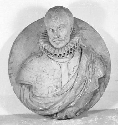 Portetmedaillon Willem de Zwijger(1533-1584)
