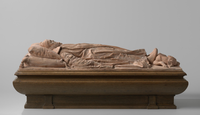 Willem de Zwijger (1533-1584) op zijn praalbed