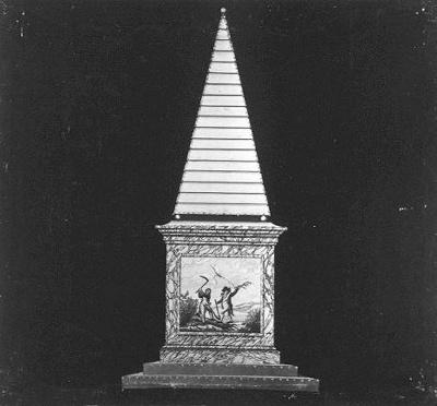 Afbeelding van de illuminatie in de Plantage: vernietiging van het Stadhouderschap