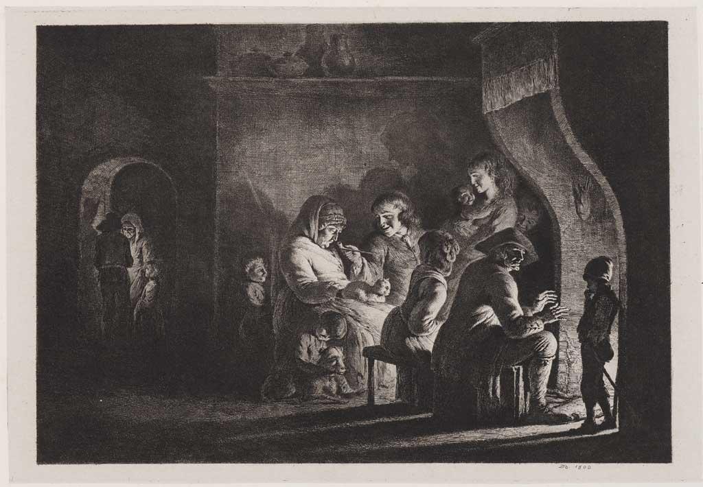Bij het haardvuur (no.17)