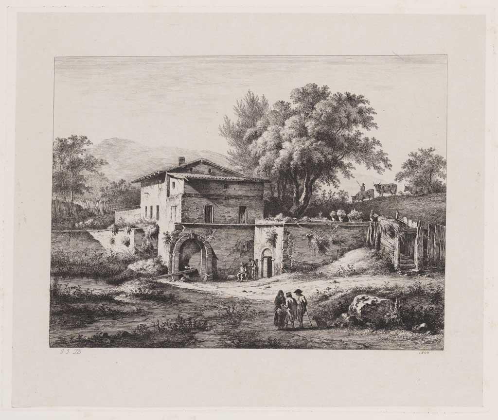 Landschap met huis (no.46)