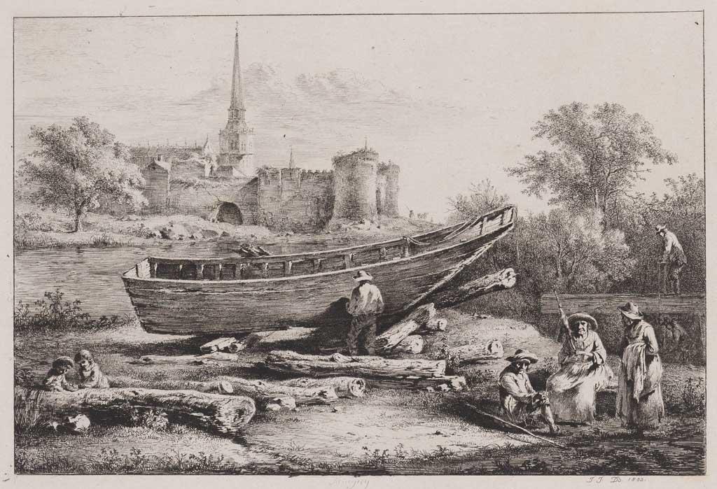 Herstel van een boot (no.47)