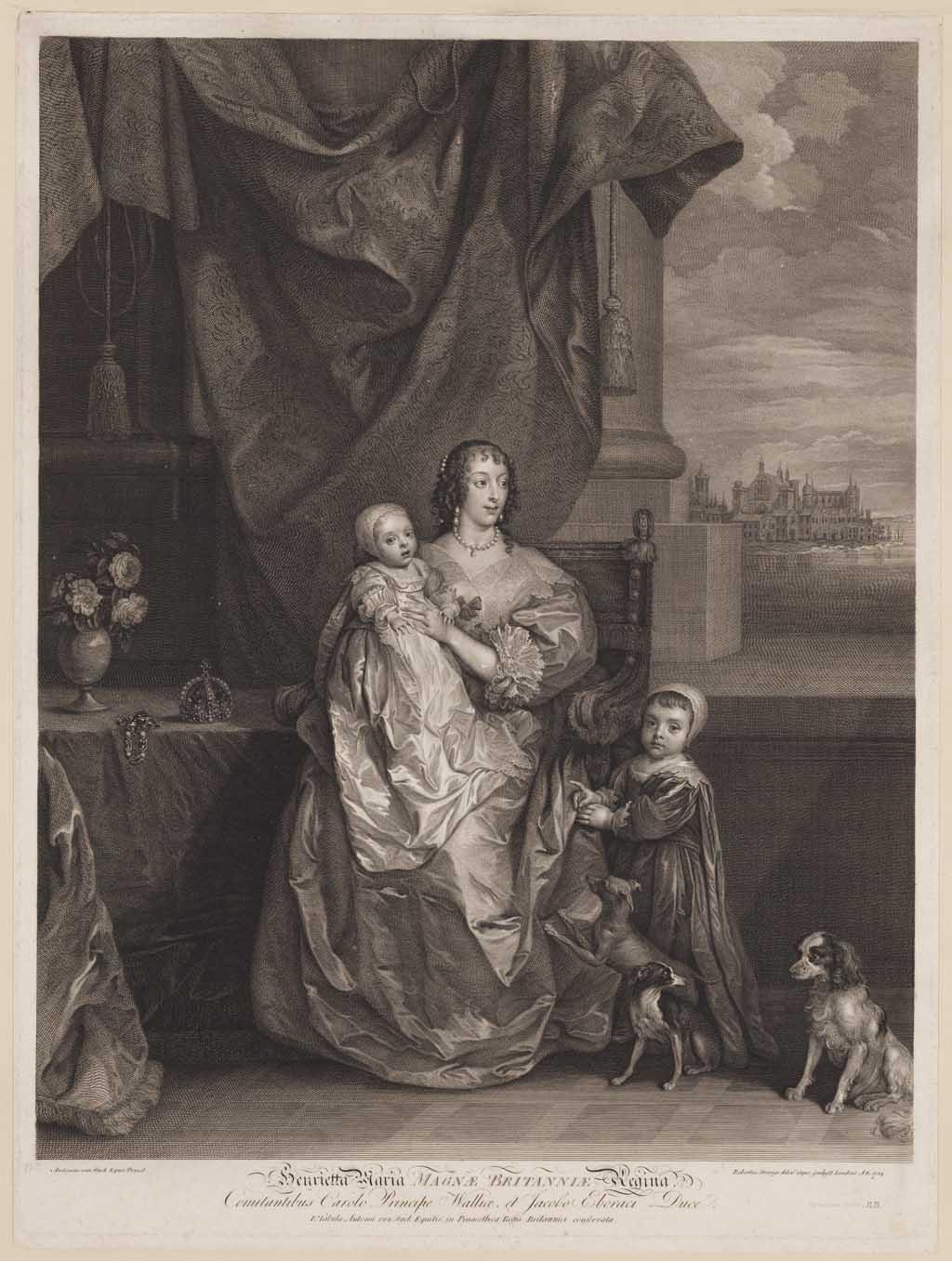 Henrietta Maria, Koningin van Brittannië (1609–1669)