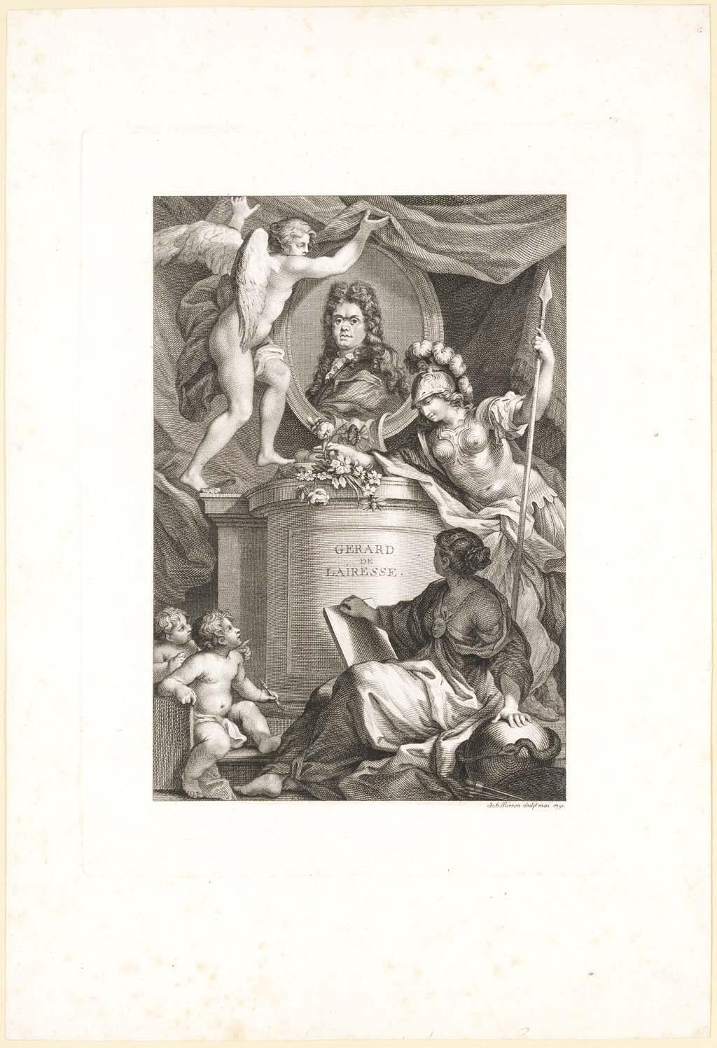 Ter ere van De Lairesse (Titre à la gloire de G. de Lairesse)