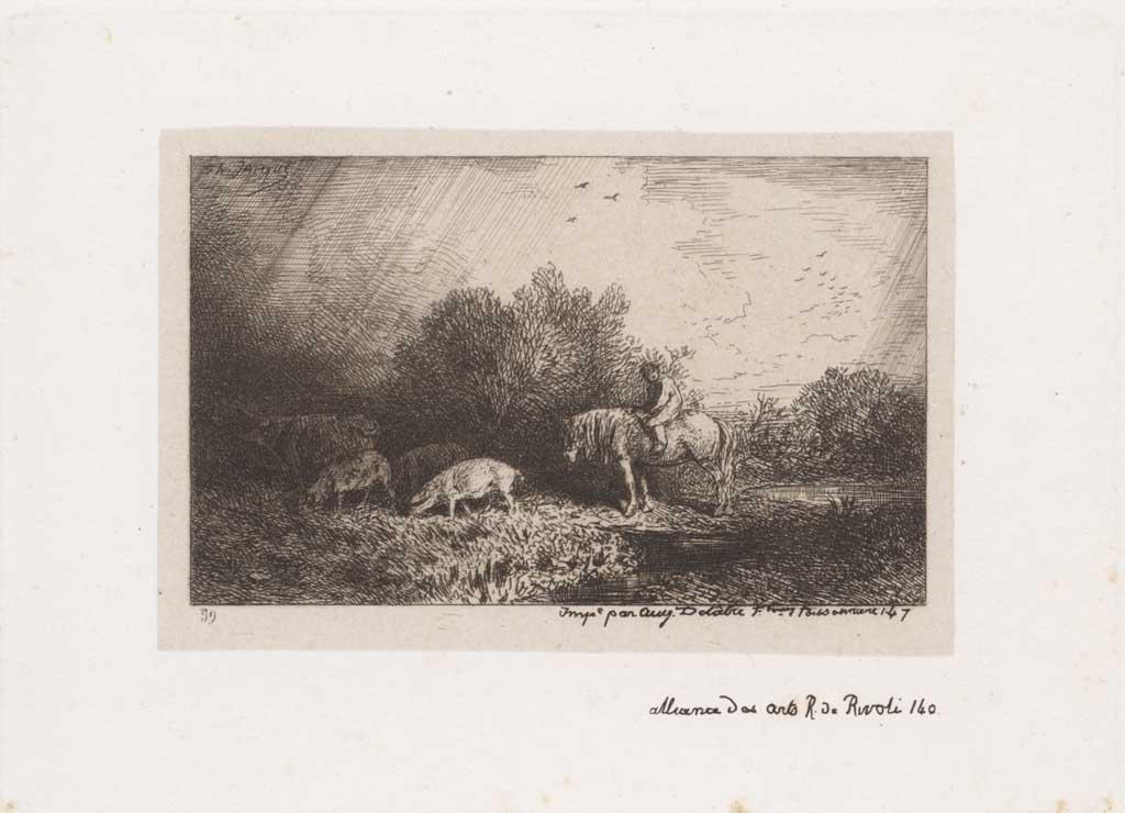 Herder te paard