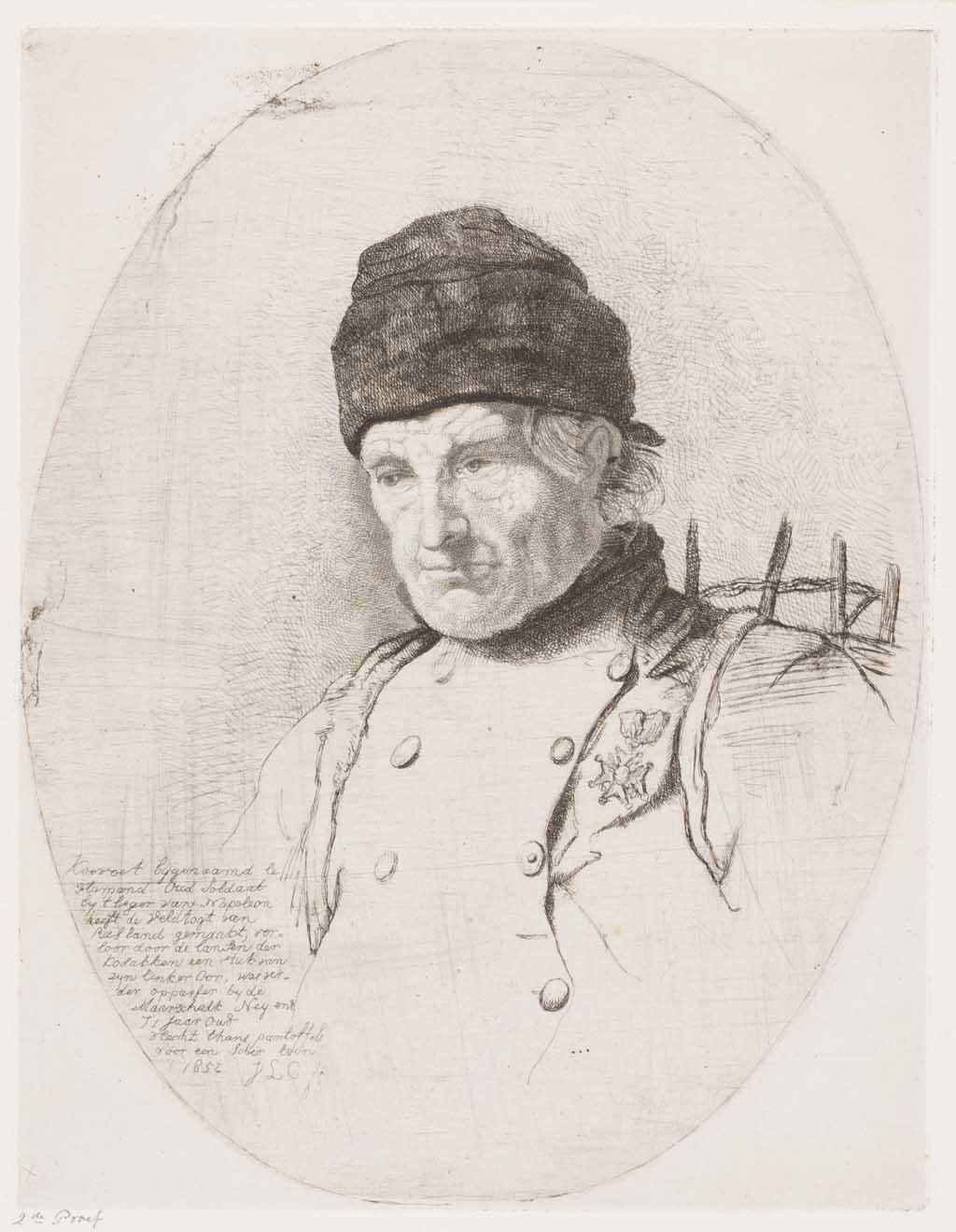 Mansportret van Koevoet, bijgenaamd le Flamand