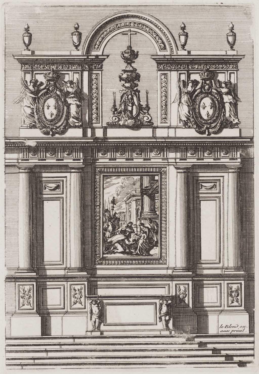 Tabernakel met aanbidding der koningen