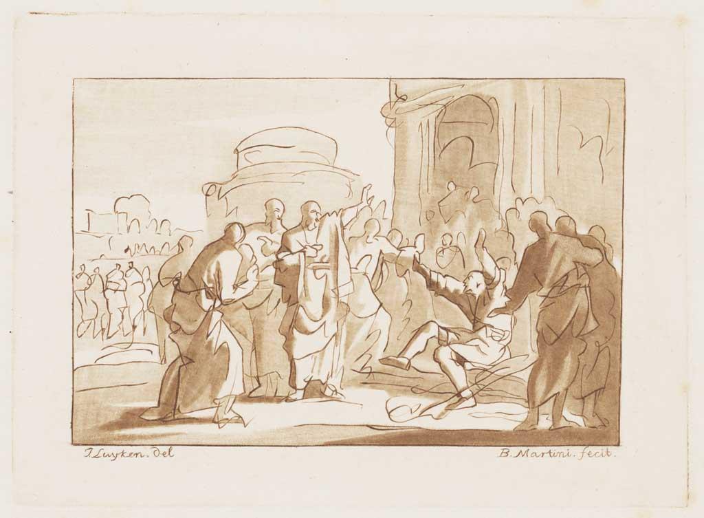 Paulus geneest de kreupele te Lystre