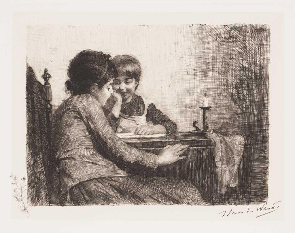 De Distel, etsen van Nederlandsche schilders, editie 1886 (afl. 4: Een kunstbeschouwing)
