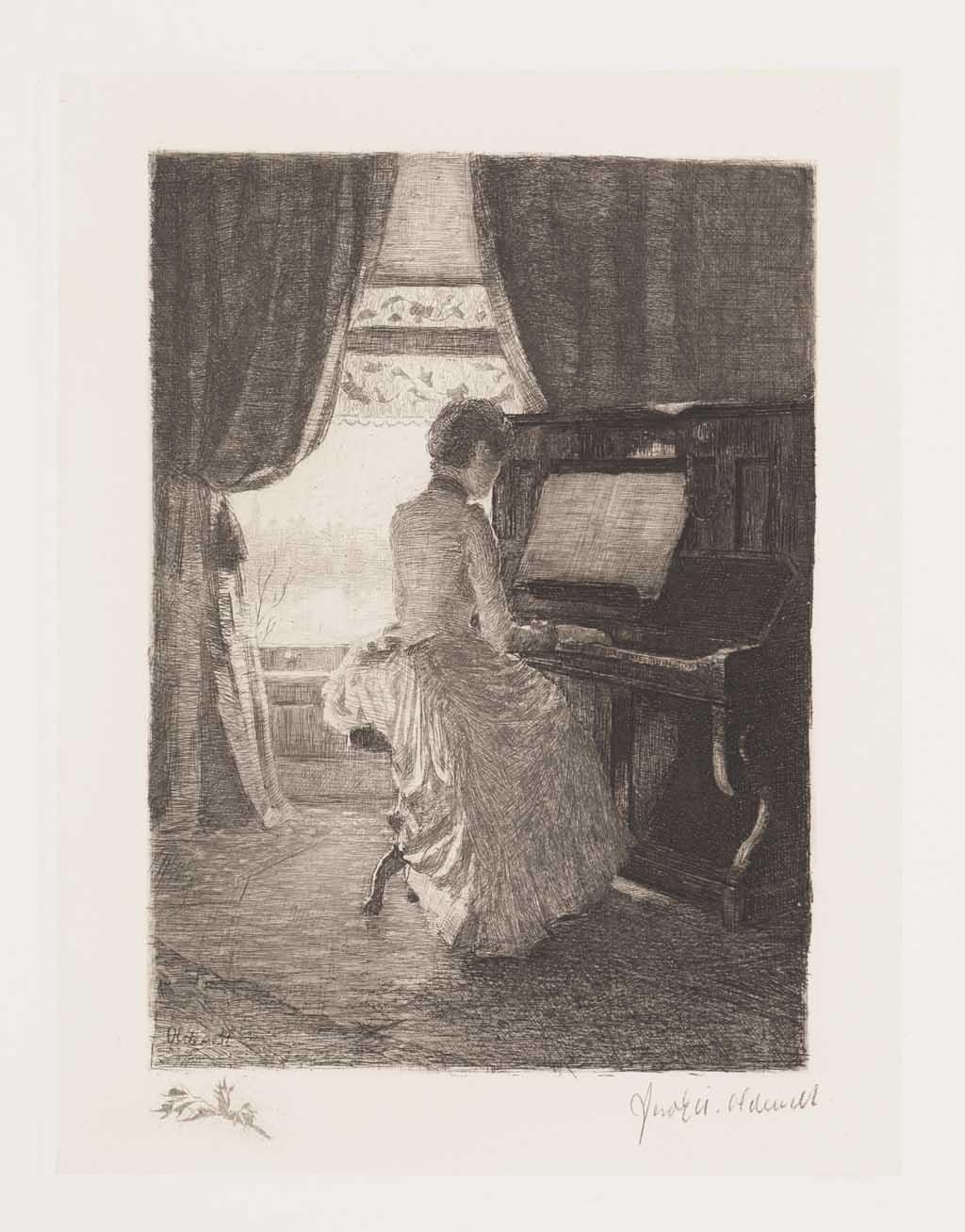 De Distel, etsen van Nederlandsche schilders, editie 1886 (afl. 5)