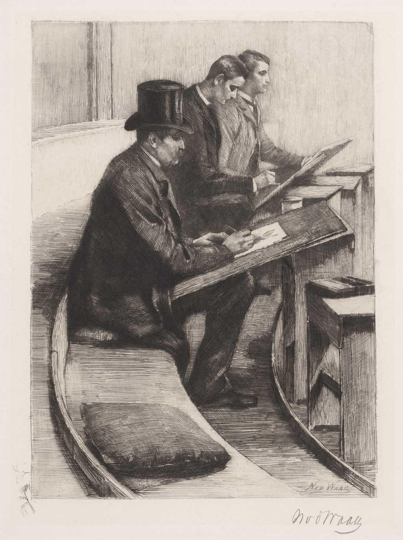 De Distel, etsen van Nederlandsche schilders, editie 1888 (afl. 8: In Felix)