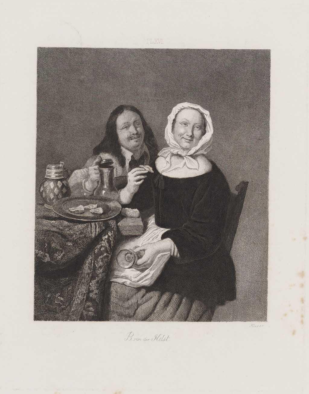 Zogenaamd B. van der Helst en zijn vrouw