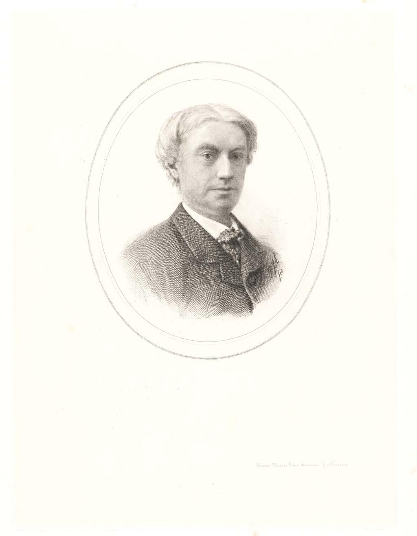 Portret van de heer Mr. C. Vosmaer