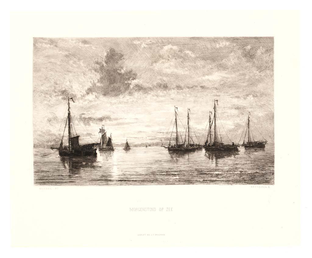 Morgenstond op zee