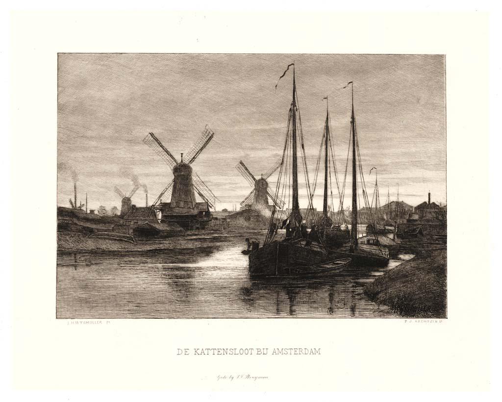 De kattensloot bij Amsterdam