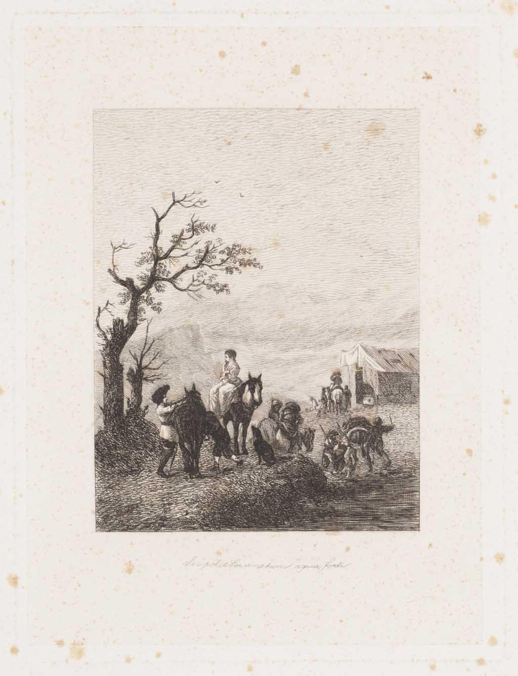 Serie van 37 etsen door Leopold Löwenstam naar 17de-eeuwse schilderijen