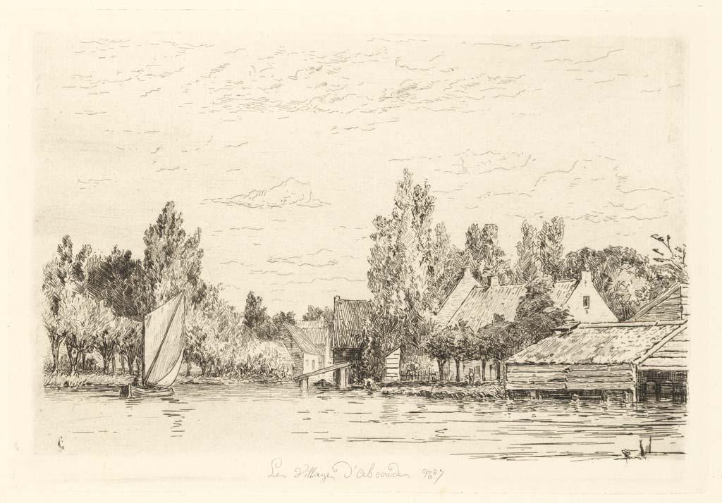 Het dorp Abcoude