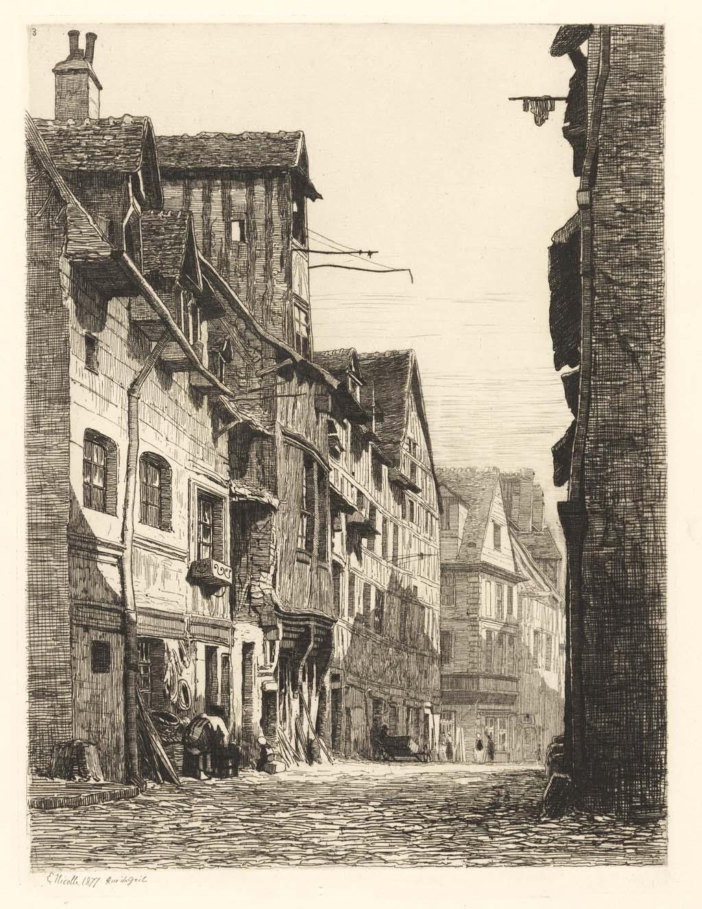 Rue du gril (quartier marlainville)