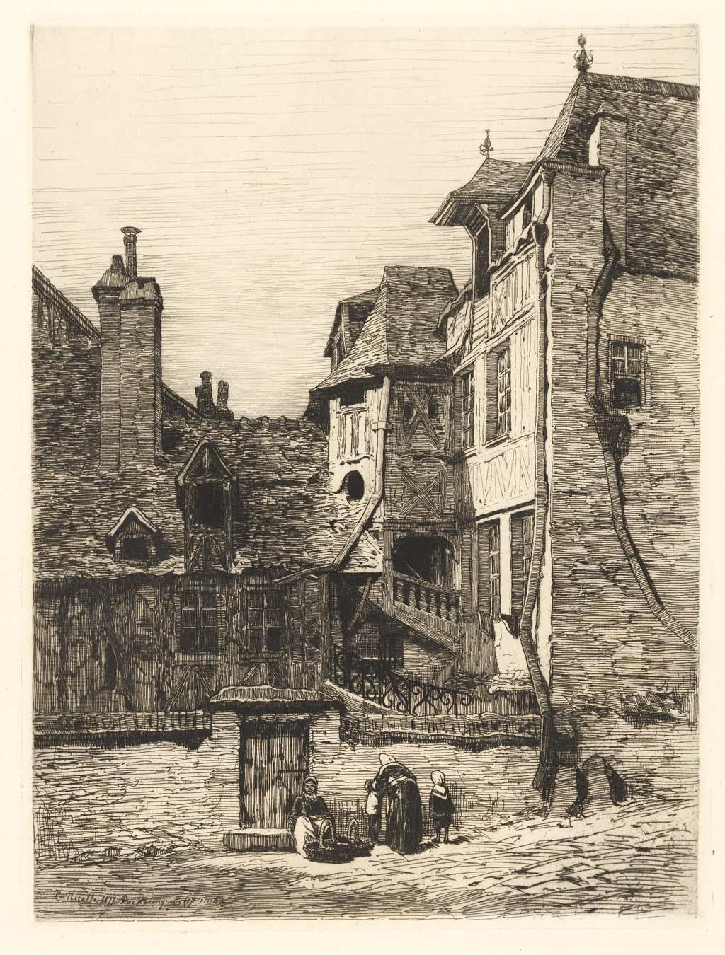 Rue harenguerie (17e siécle)