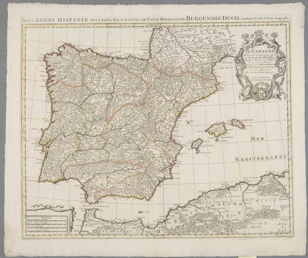 Nova Regni Hispaniae Accurata Descriptio ad Usum Serenissimi Burgundiae Ducis