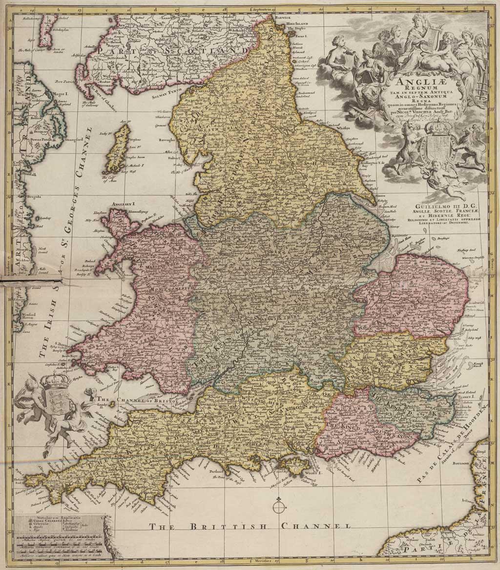Angliae regnum tam in septem antiqua Anglo-Saxonum regna quam in omnes Hodiernas Regiones