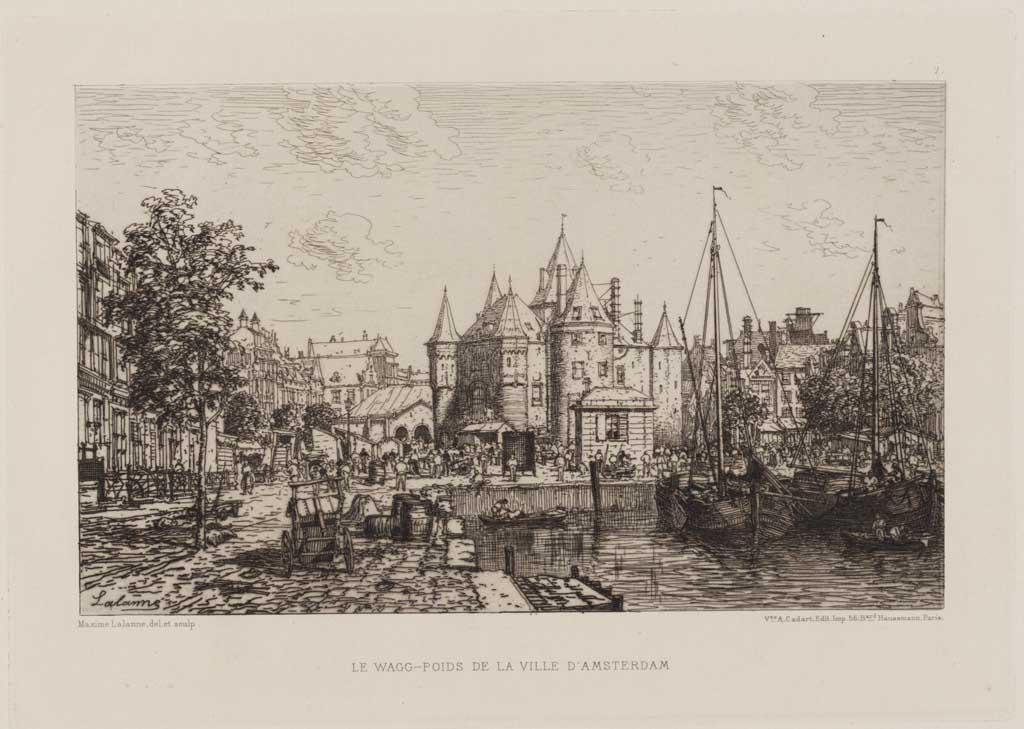 Le Wagg-Poids de la Ville d'Amsterdam
