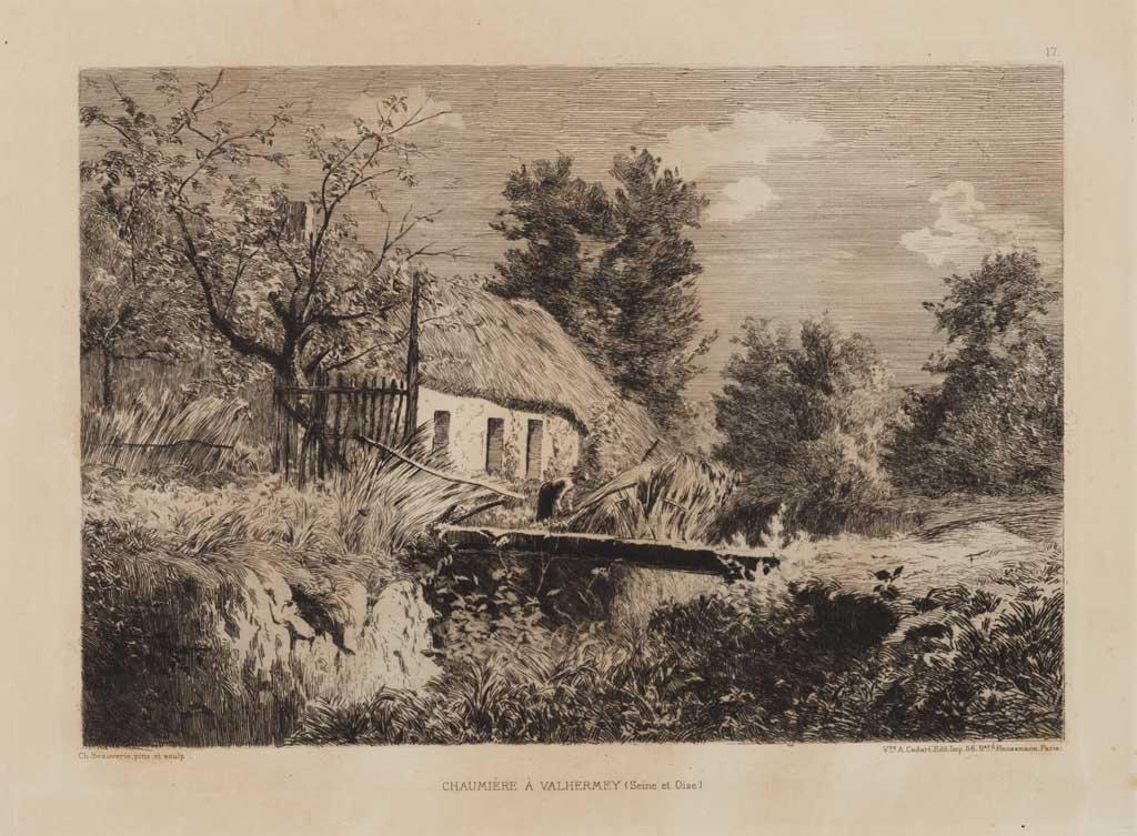 Chaumière à Valhermey (Seine et Oise)