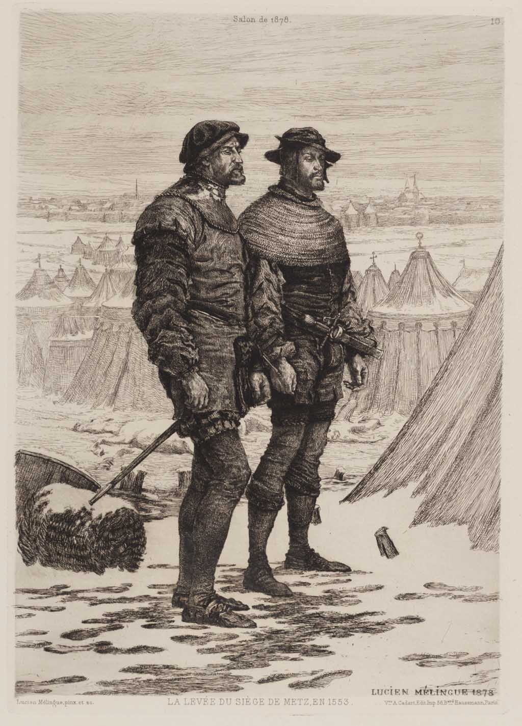 La levée du siège de Metz en 1553