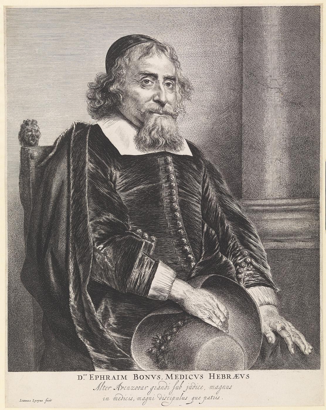 Portret van Ephraim Bonus
