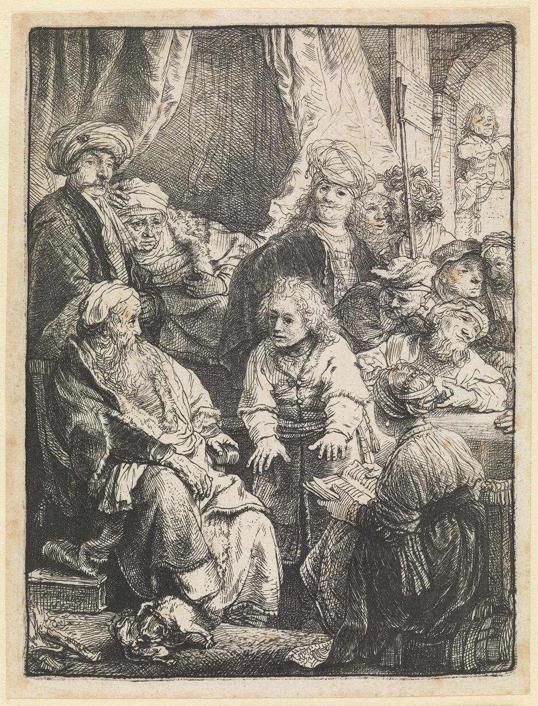 Jozef zijne droomen aan zijne broeders verhalende