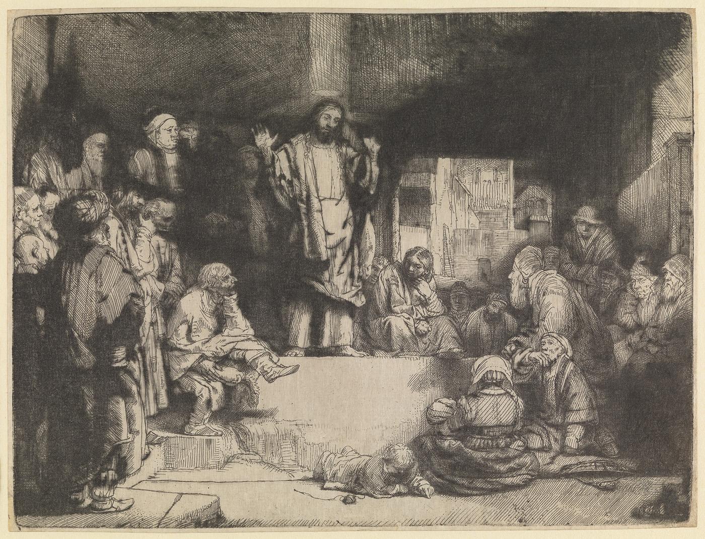 De predikende Christus ('La Petite Tombe')