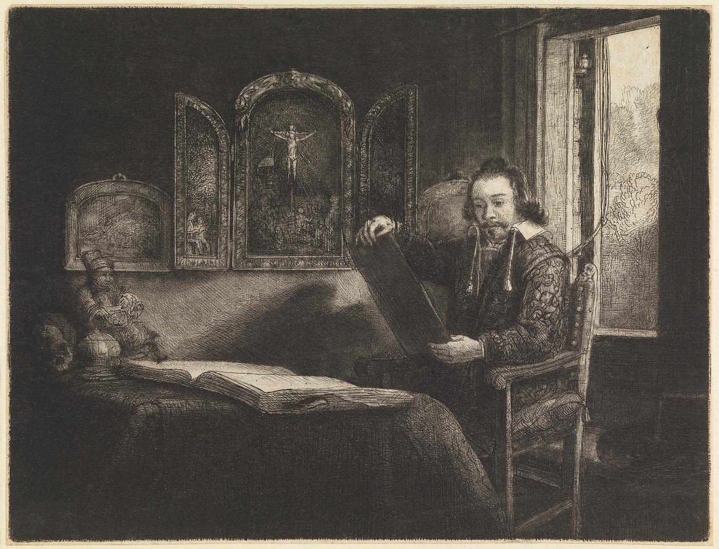 Portret van Abraham Francen