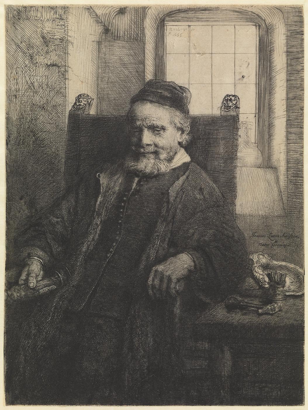Portret van Jan Lutma