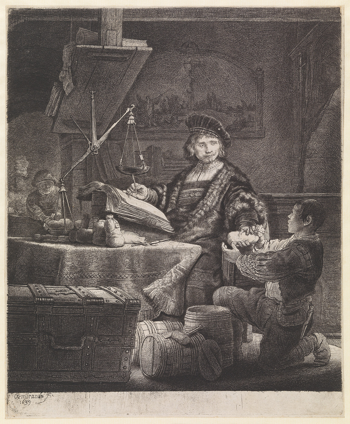 Jan Wtenbogaert, 'De Goudweger'