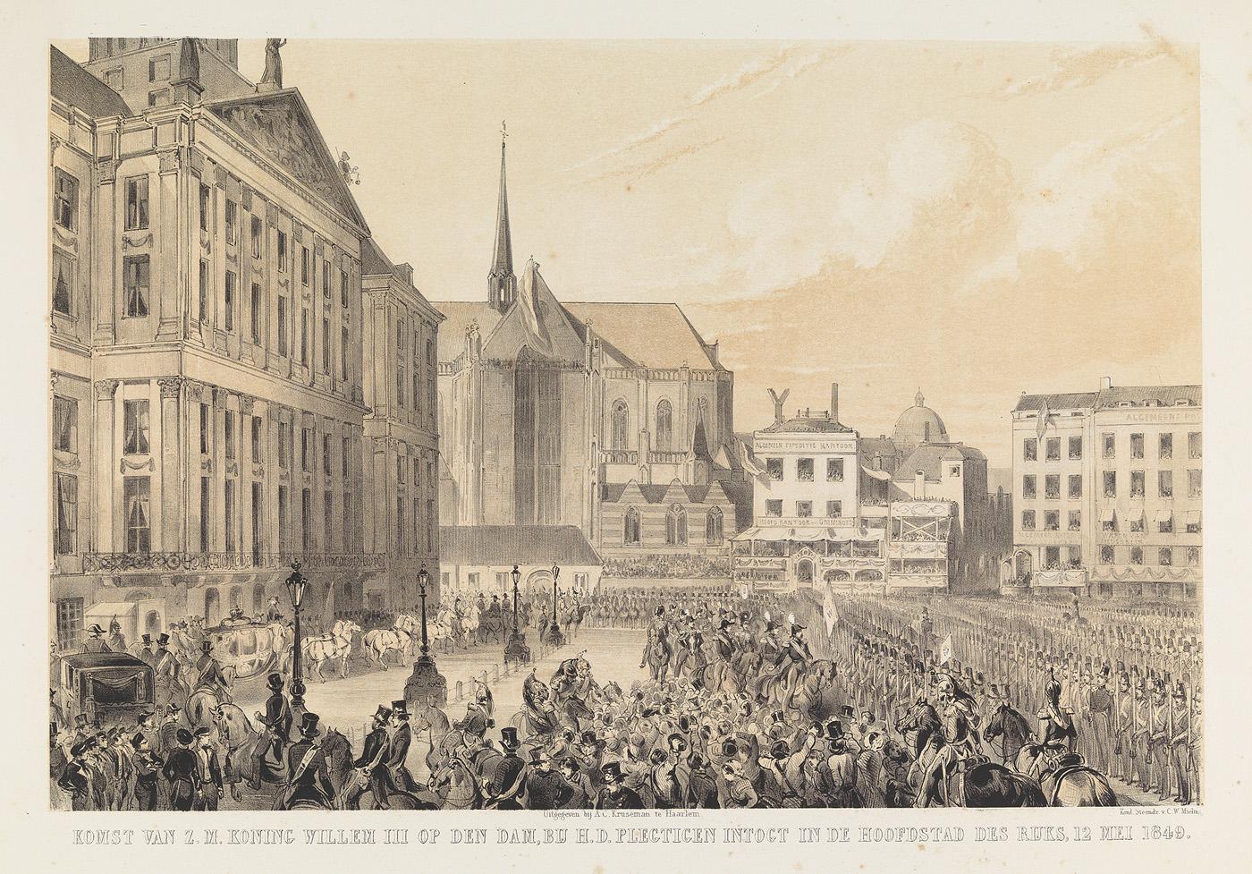 Didoos dood, Boertig in Hollandsche kleedy afgebeeld
