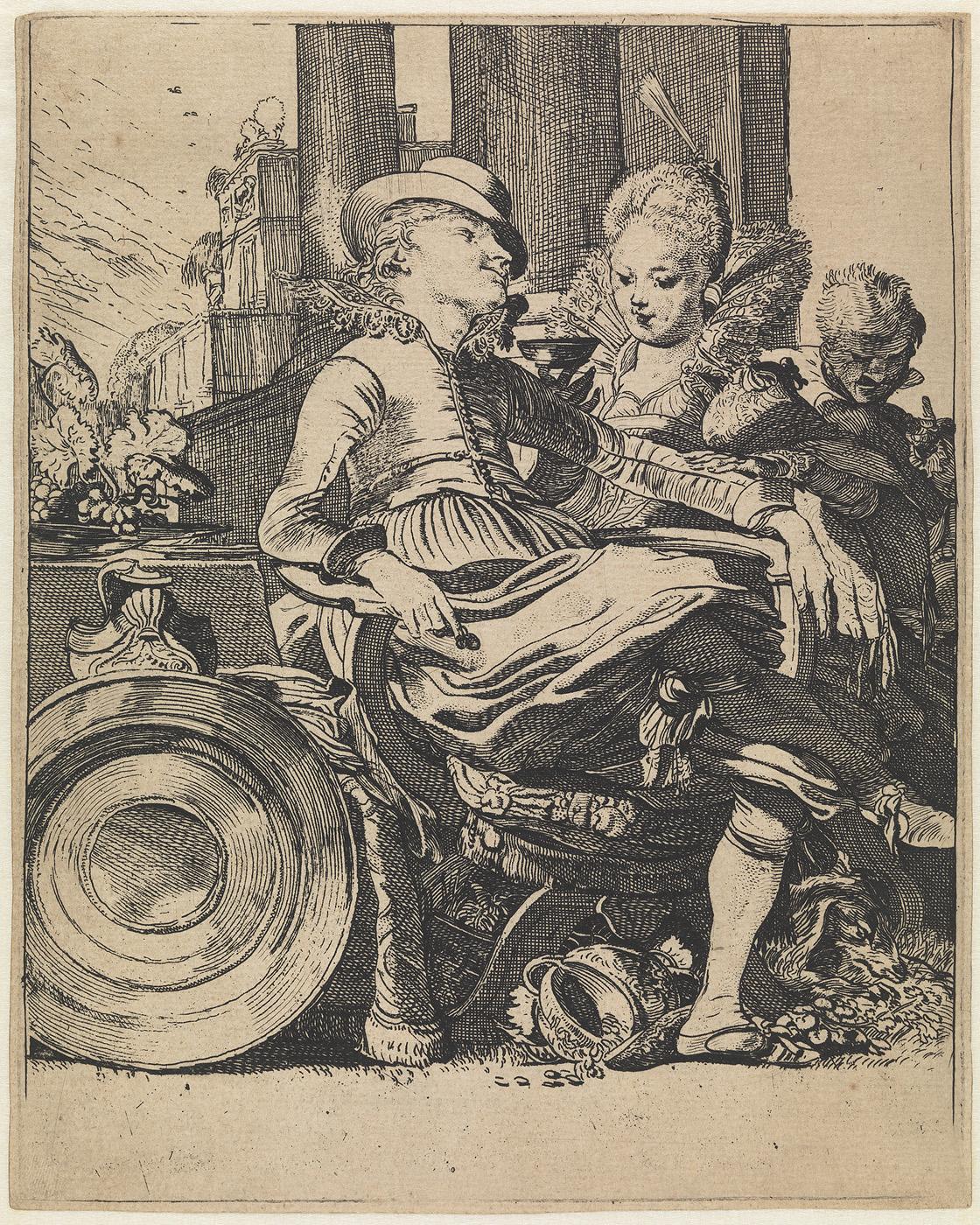 Het verliefde paar, Lucelle en Ascagnes
