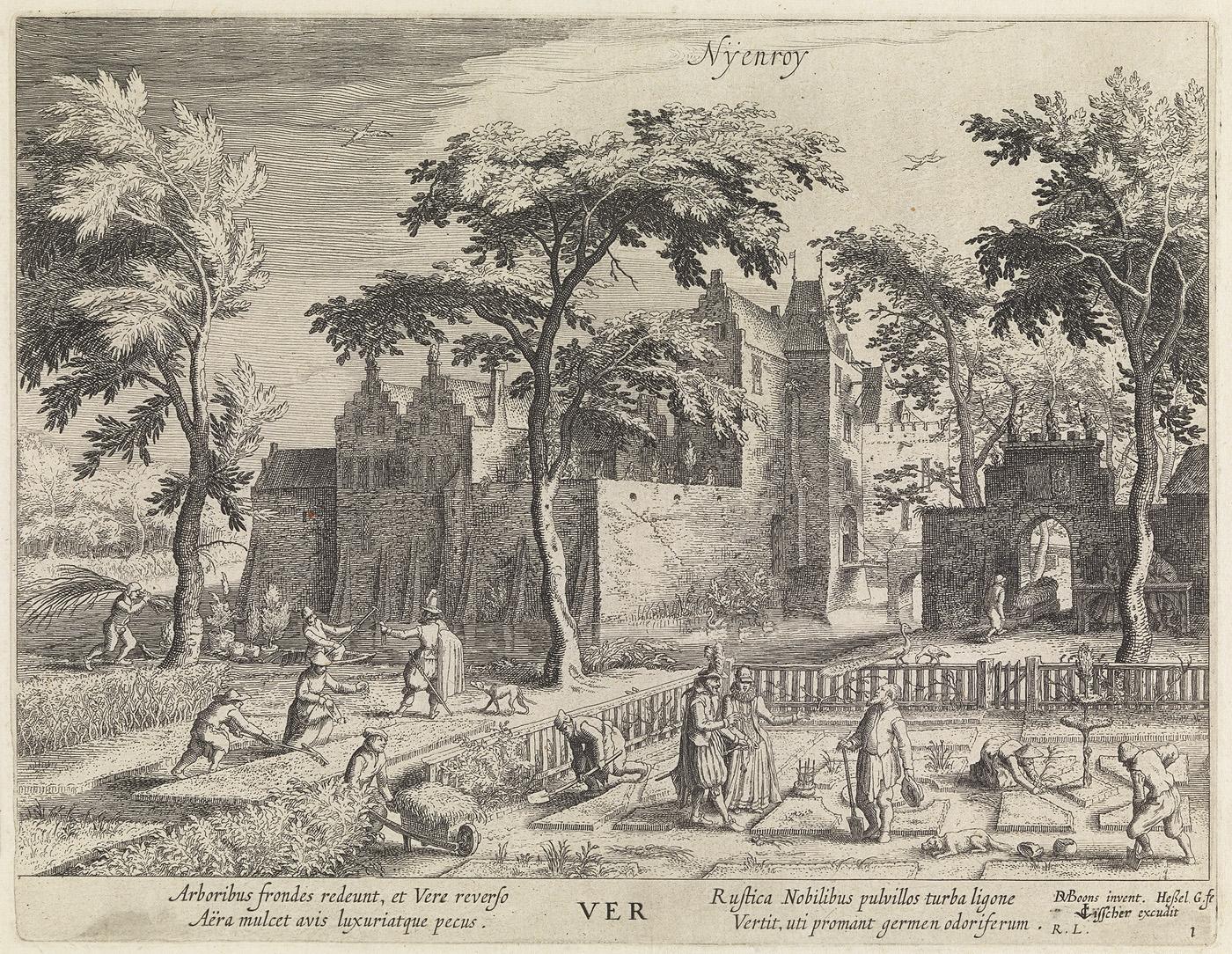 Nyenroy, Ver (Lente, uit de serie: de jaargetijden. gezichten op kastelen)