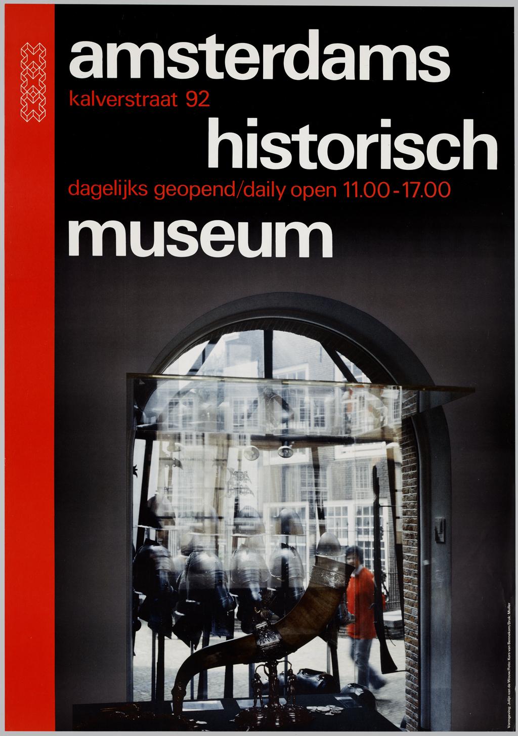 Algemeen affiche voor Amsterdams historisch museum
